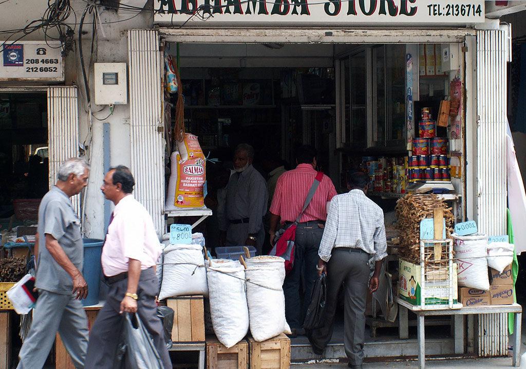 Wakacje na Mauritiusie Port Luis sklep