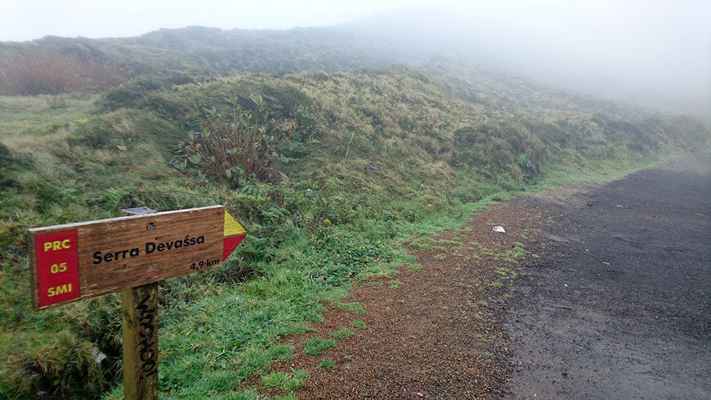 Serra Devasa na Azorach