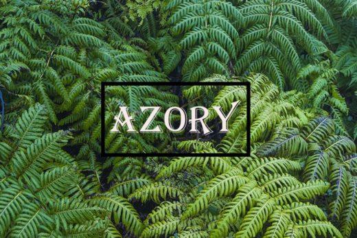 paprocie na Azorach