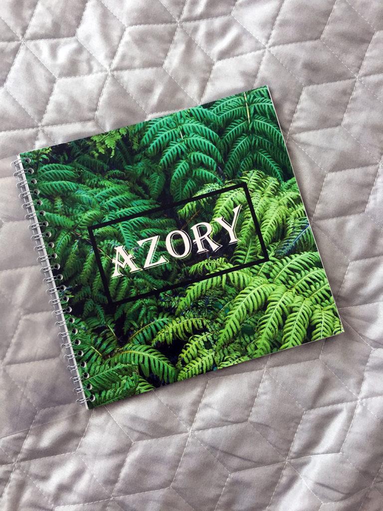Fotoksiążka Saal Azory okładka