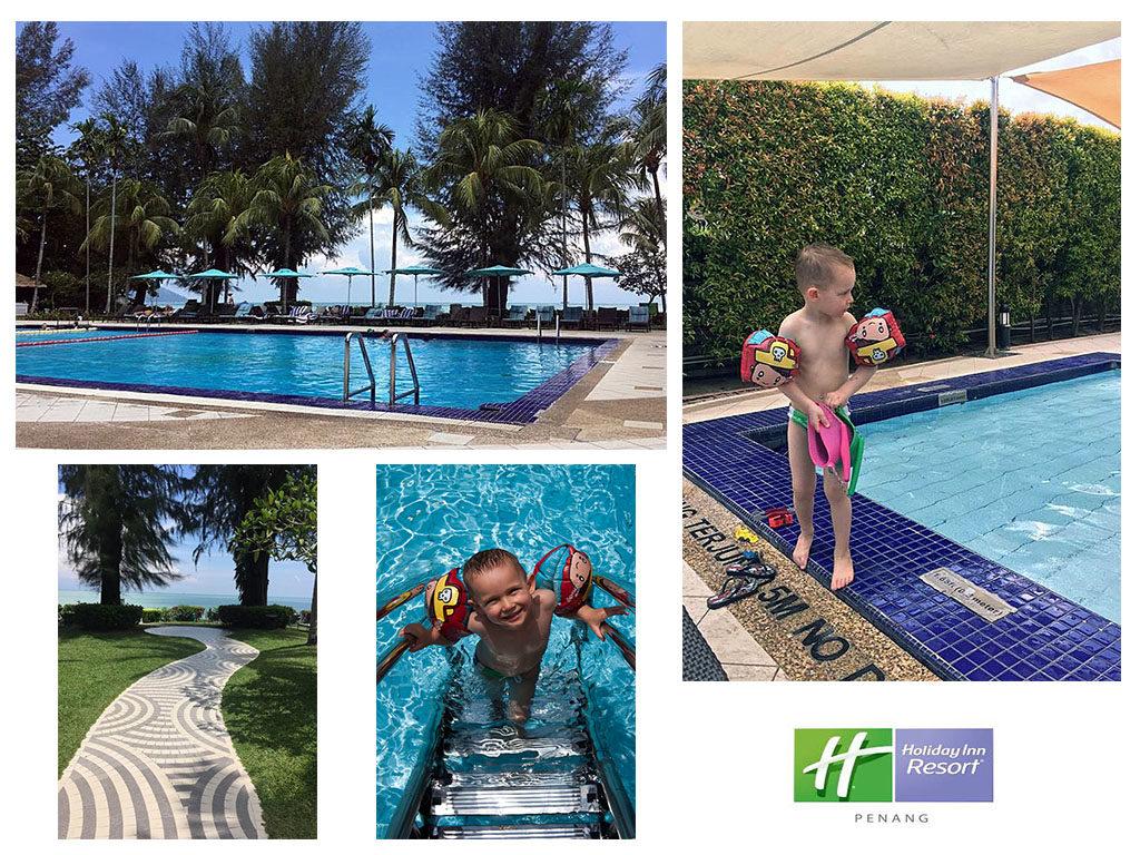 basen dobry hotel na Penang