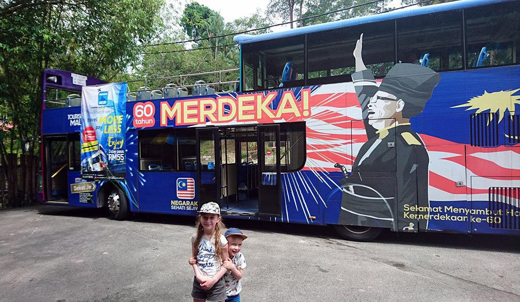 darmowe atrakcje dla dzieci Penang hop on off