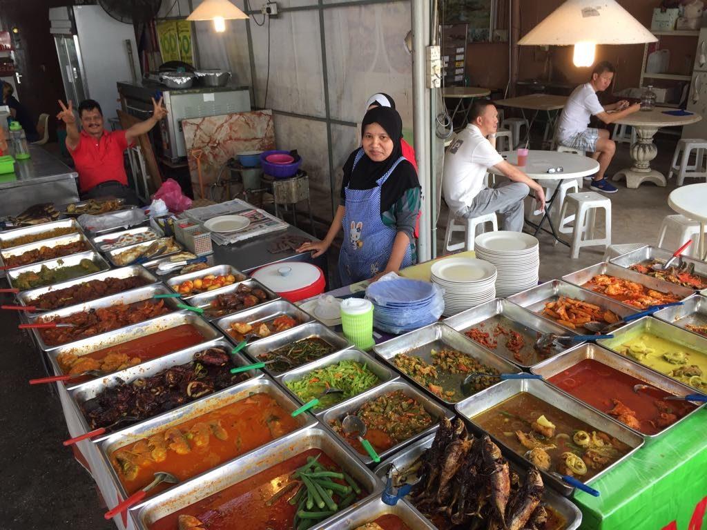 azjatyckie jedzenie georgetown jedzenie przy ulicy