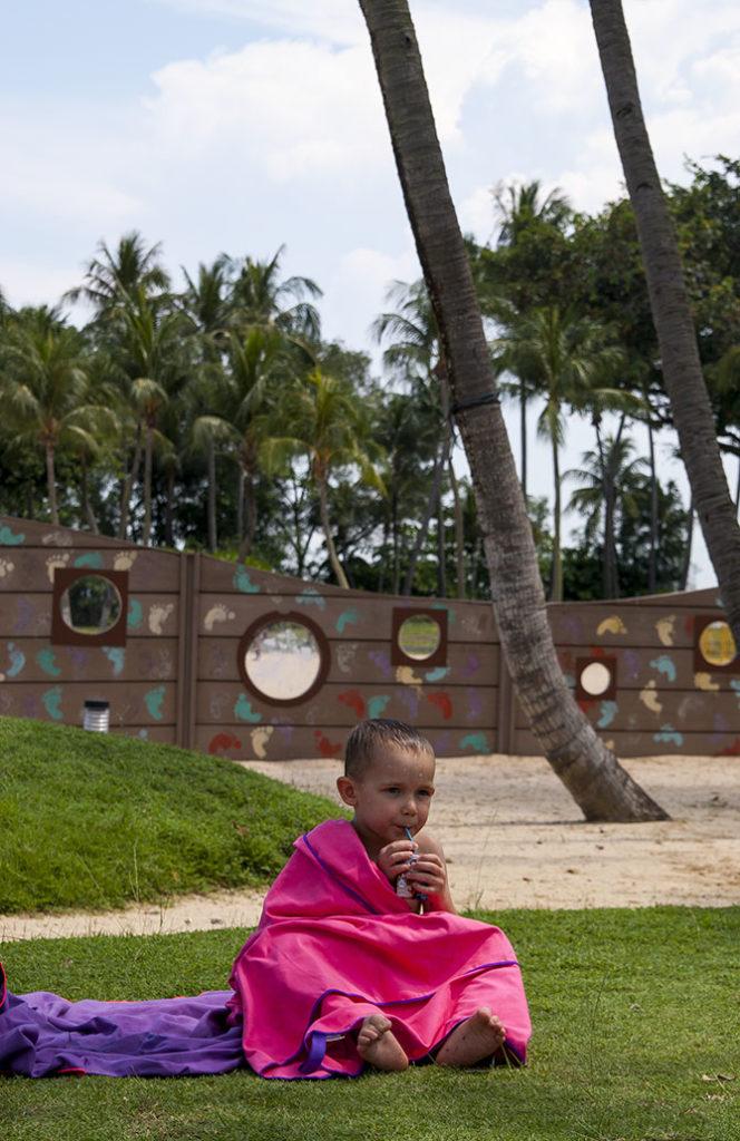 Singapur darmowe atrakcje piracki statek piknik