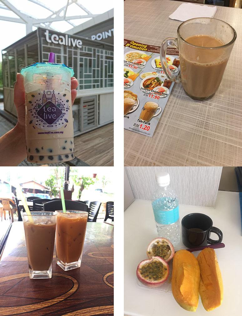 azjatyckie jedzenie napoje teh tarik i inne