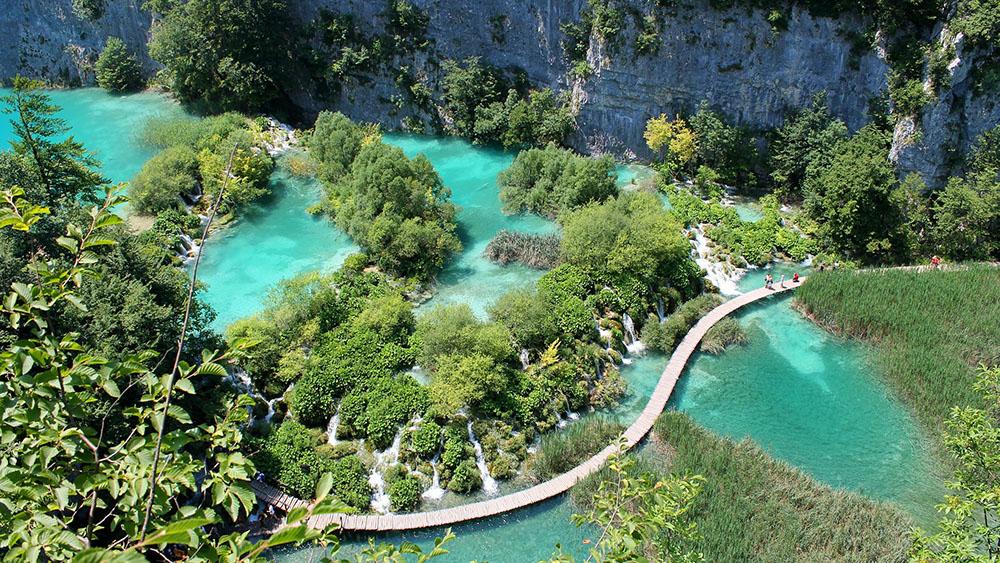Chorwacja-wakacje-samochodem-Plitvice