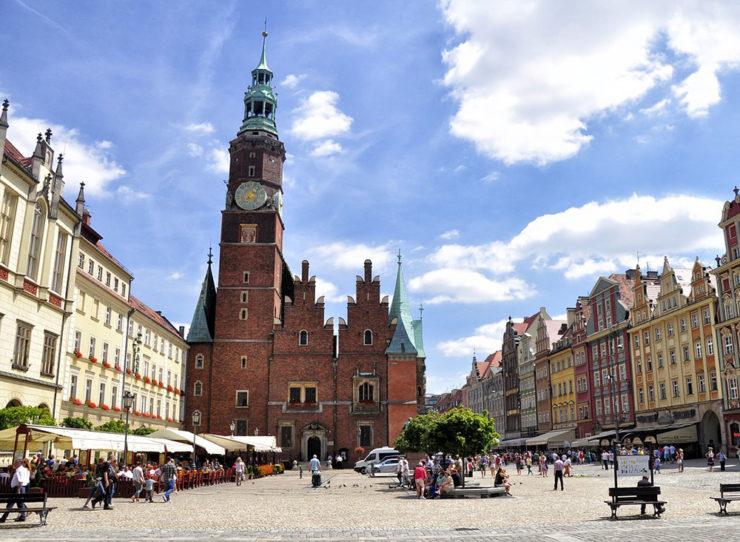 Na weekend do Wrocławia stare miasto