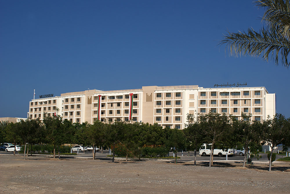 Millennium Resort Mussanah parking