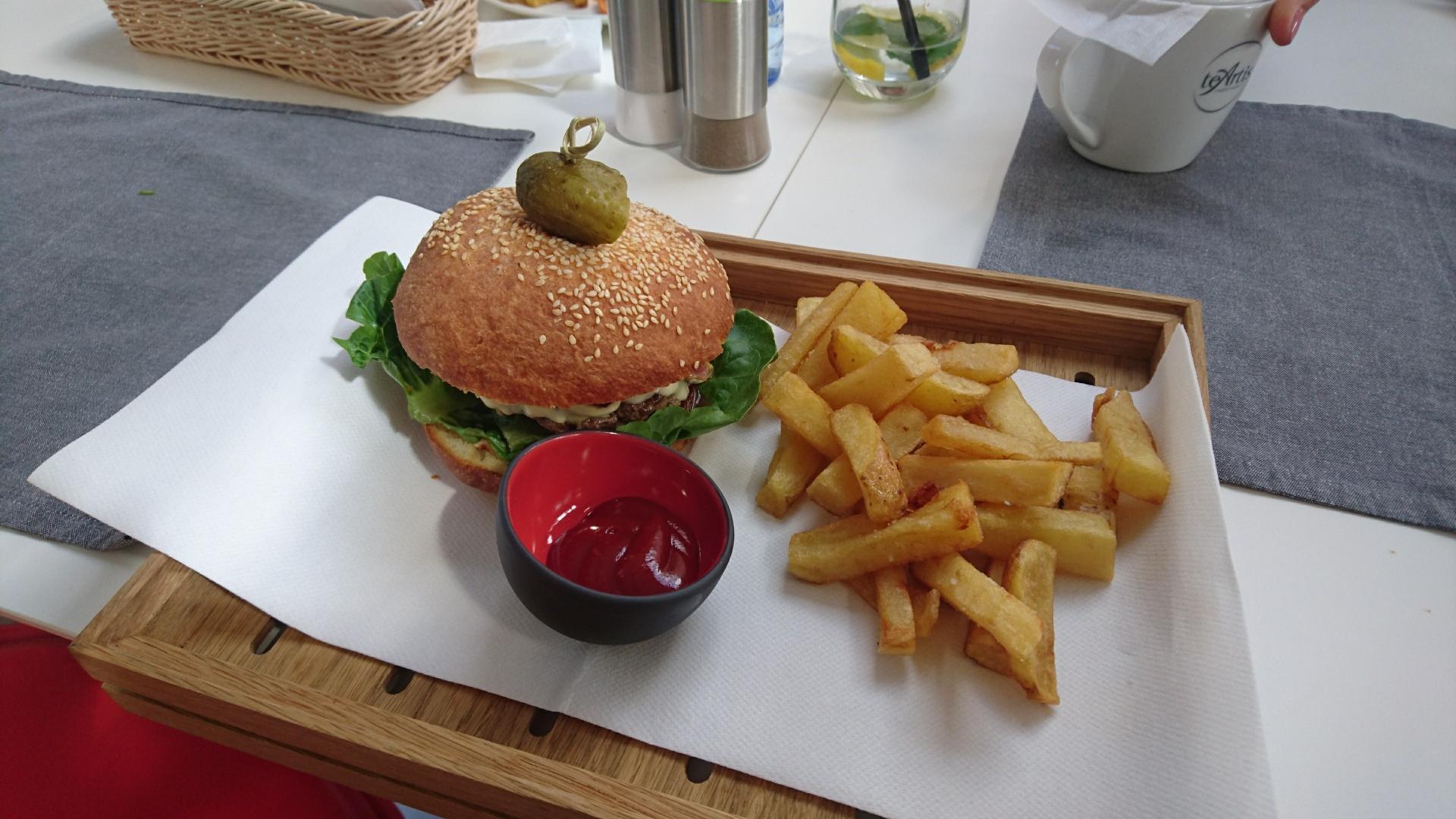 Wakacje w Lubiatowie Abogada burger