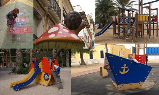 Dobry kierunek na jesień Alicante plac zabaw