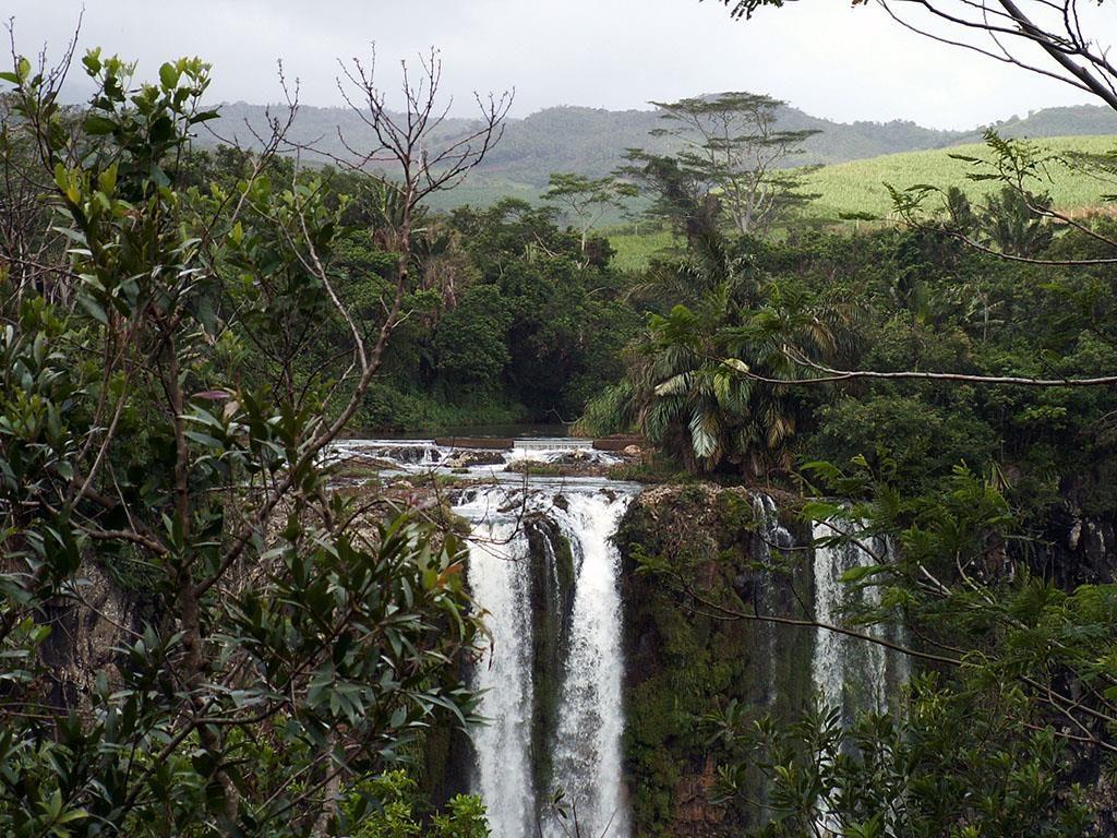 Wakacje na Mauritiusie Wodospad Chamarel