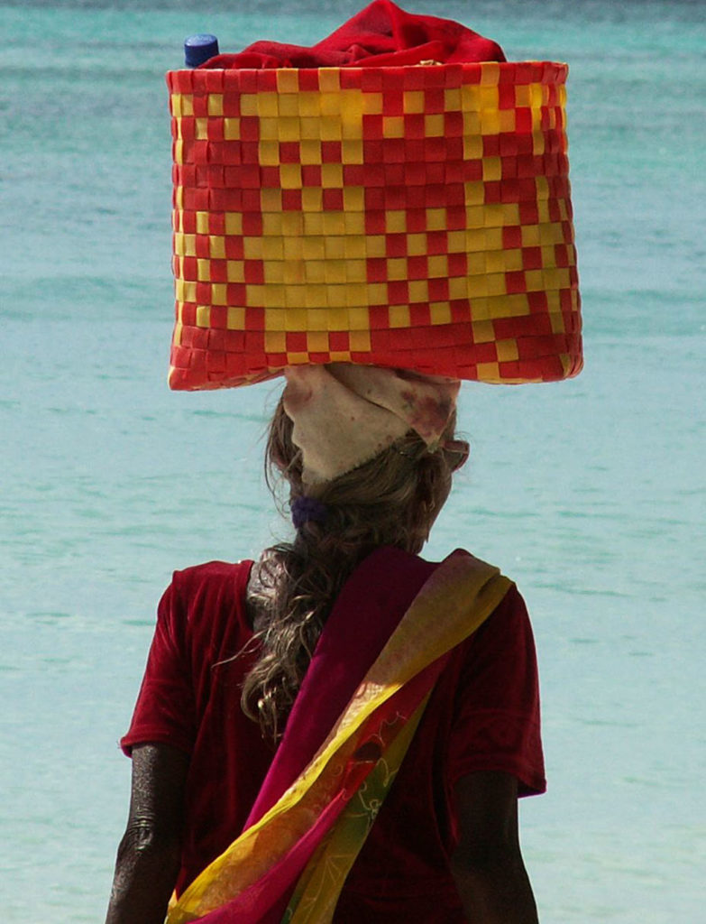 Wakacje na Mauritiusie tradycyjne stroje kobiece
