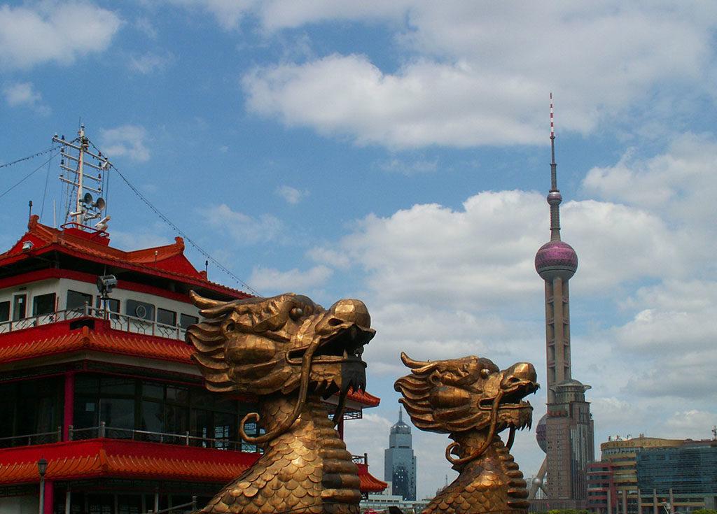 podróż do Chin Szanghaj