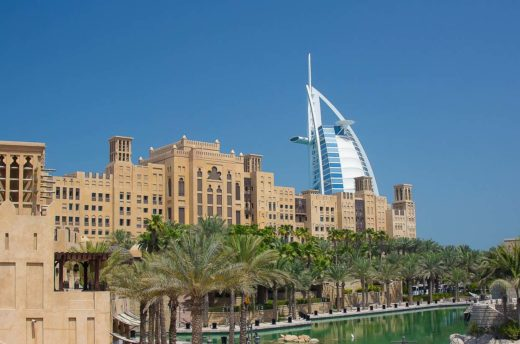 Super Oferta do Dubaju widok na hotel