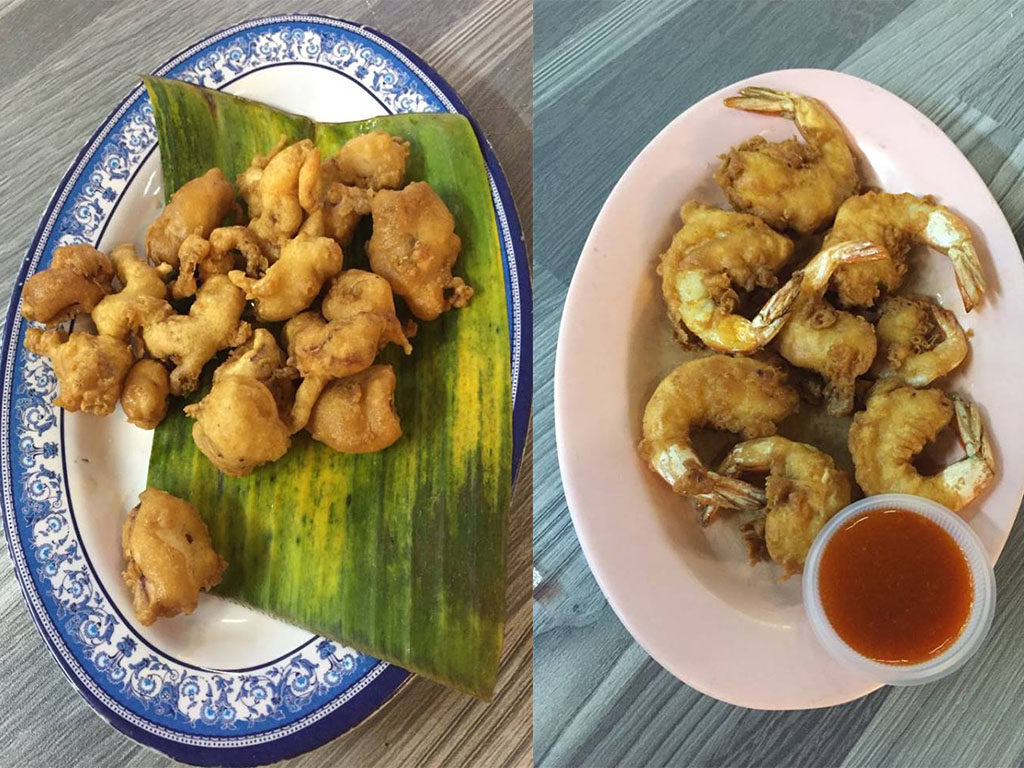 jedzenie w Georgetown Penang