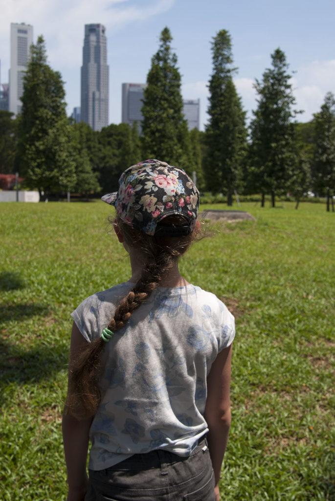 Singapur enklawy w mieście