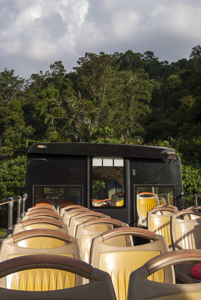 darmowe atrakcje dla dzieci Penang autobus