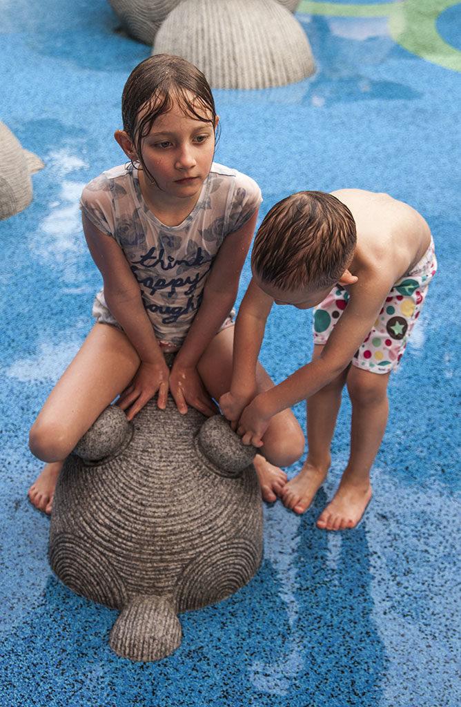 Singapur darmowe atrakcje wodny plac zabaw dzieci