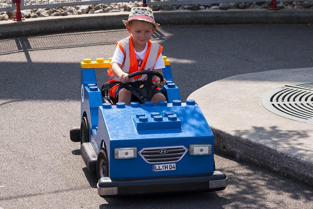 Legoland w Niemczech samochody