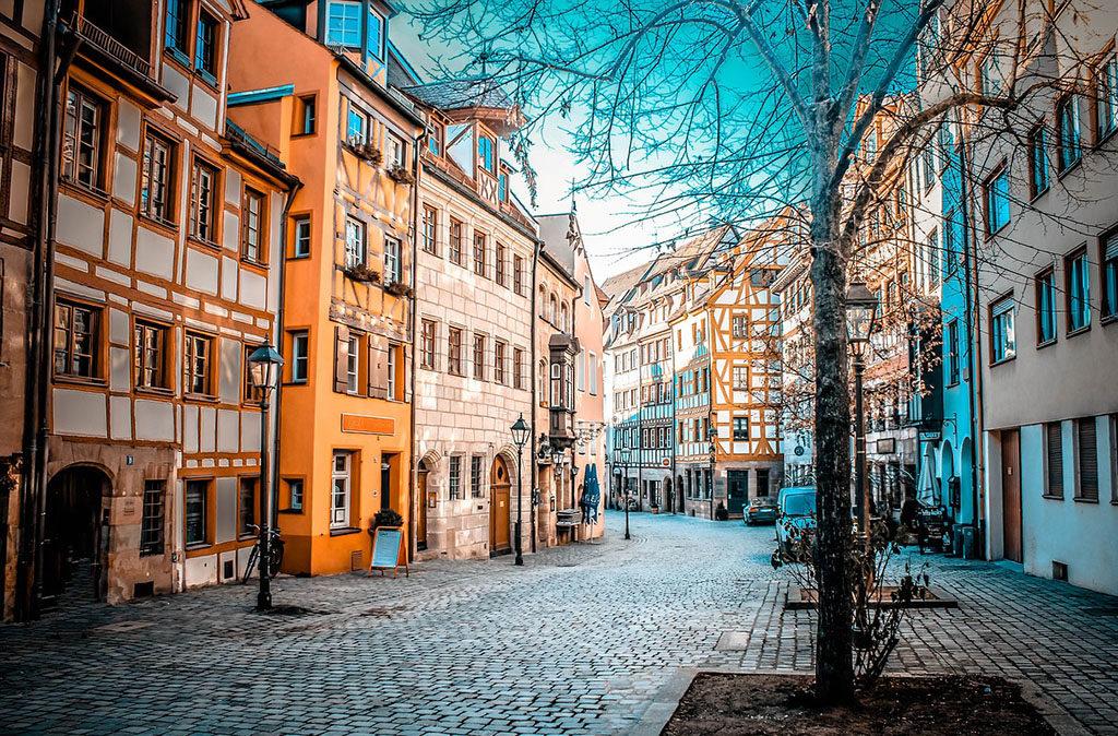 Norymberga niemckie miasta