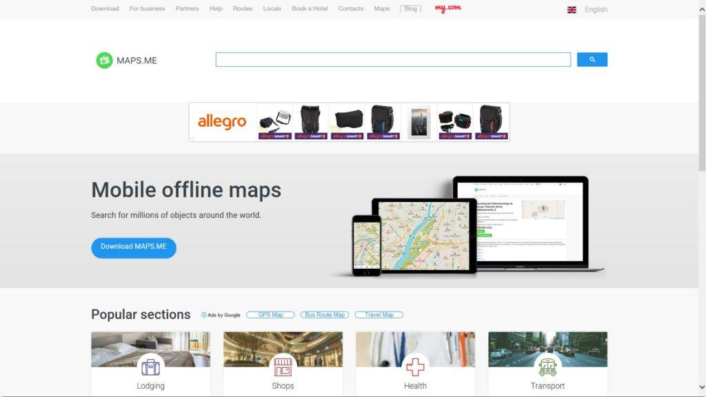 Maps me darmowa aplikacja