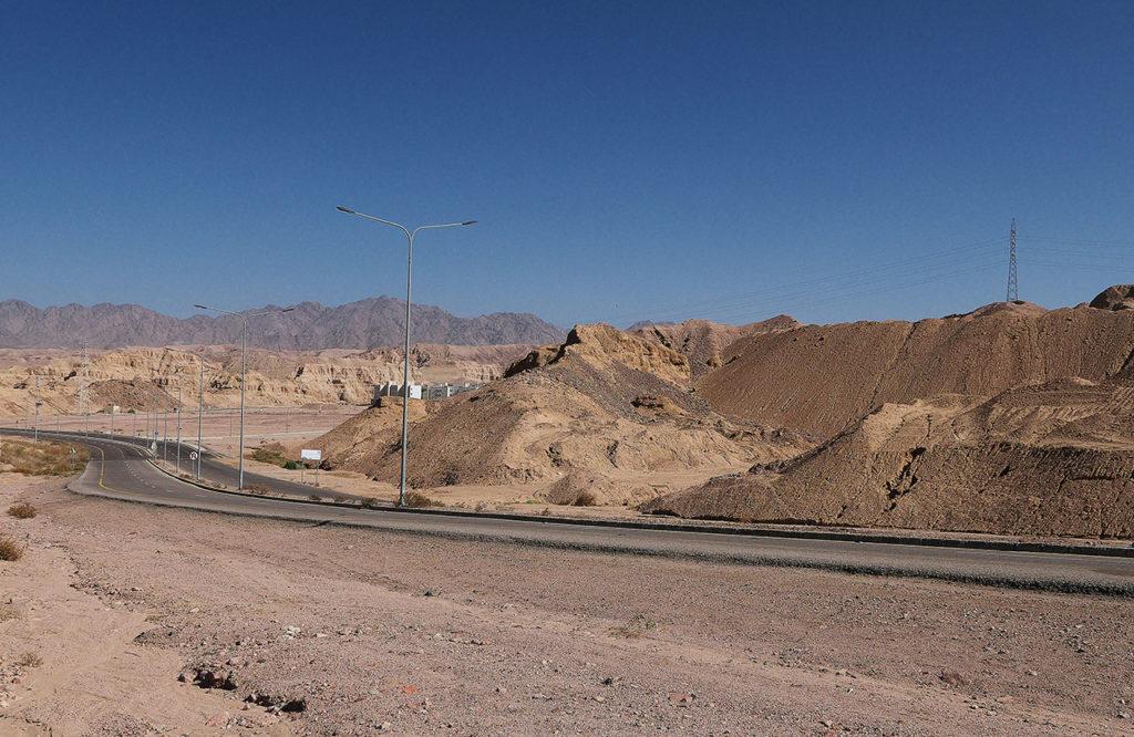 Aqaba kurort w jordanii droga