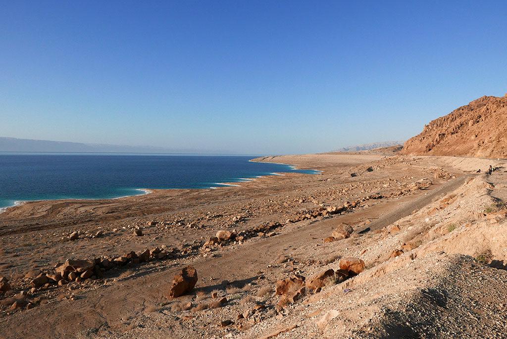 morze martwe w Jordanii widok