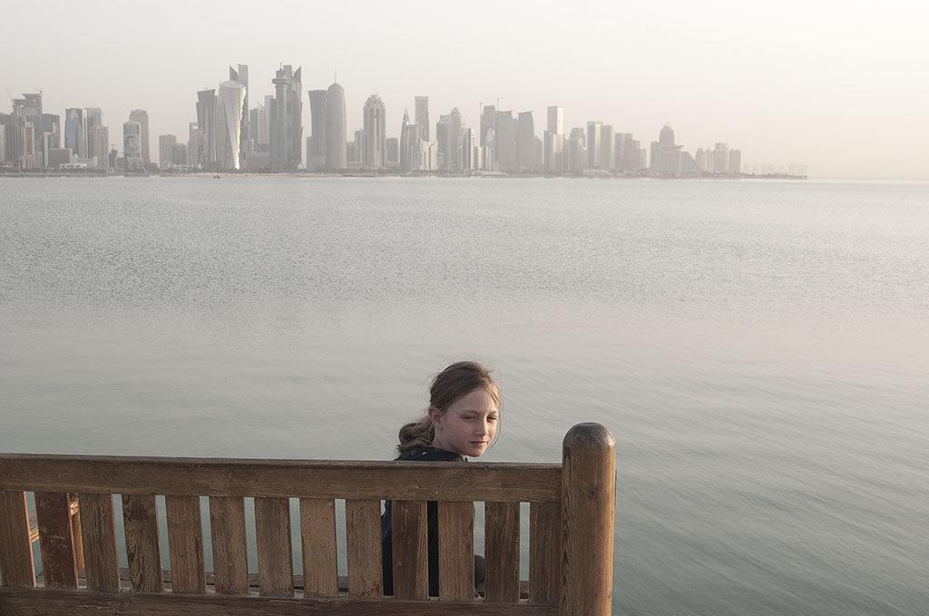 stopover w doha widok na nowe miast doha