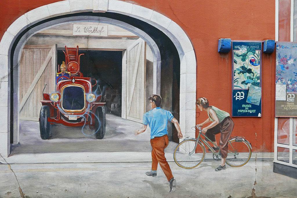 Magiczne Miasta murale Miluza