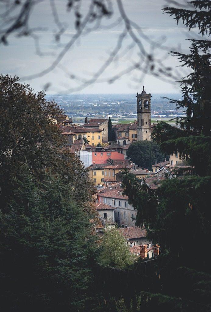 Mediolan i Bergamo widok