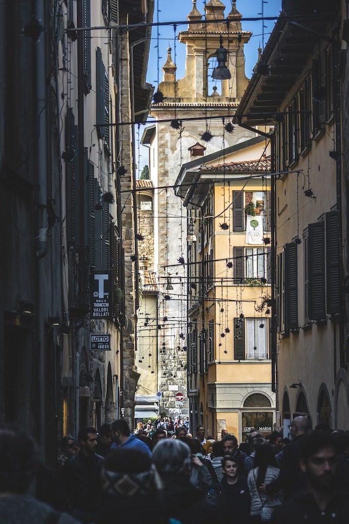 Mediolan i Bergamo miasto
