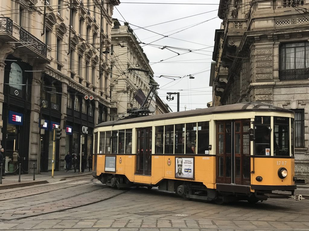Mediolan i Bergamo tramwaj