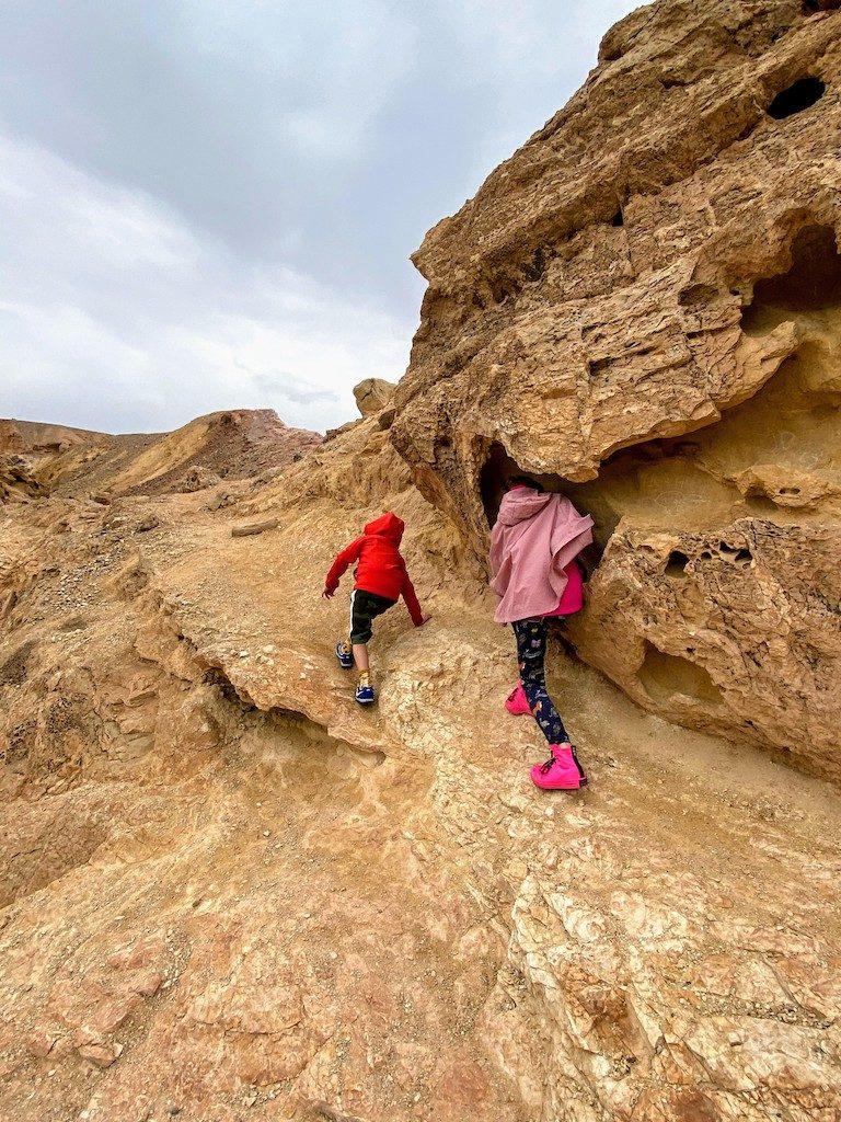 Ejlat Red Kanion plac zabaw