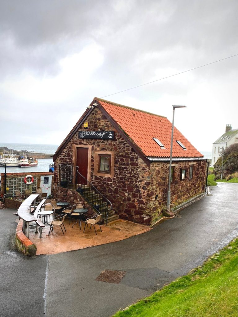 Weekend w Szkocji kawiarnia St.Abbs