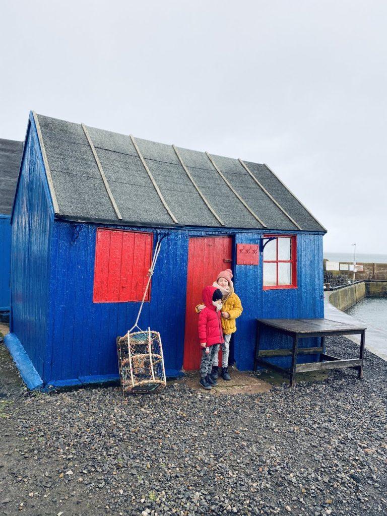Weekend w Szkocji kolorowe domki